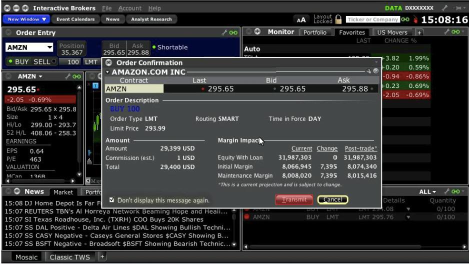 Interactive Brokers Platform And Tools