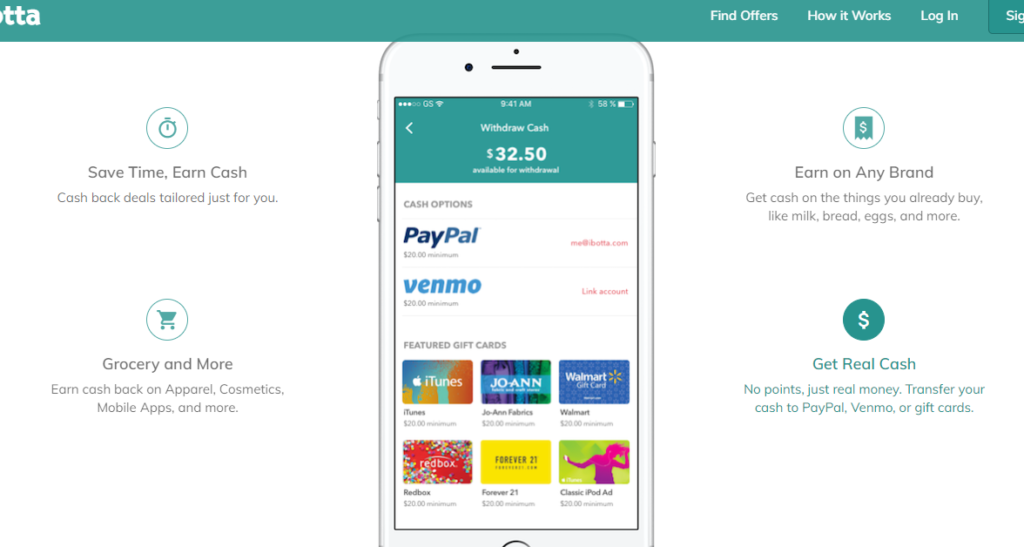 Ibotta App - Ibotta is one of the best coupon apps for in-store retail shopping