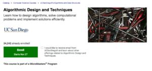Algorithmic Design and Techniques