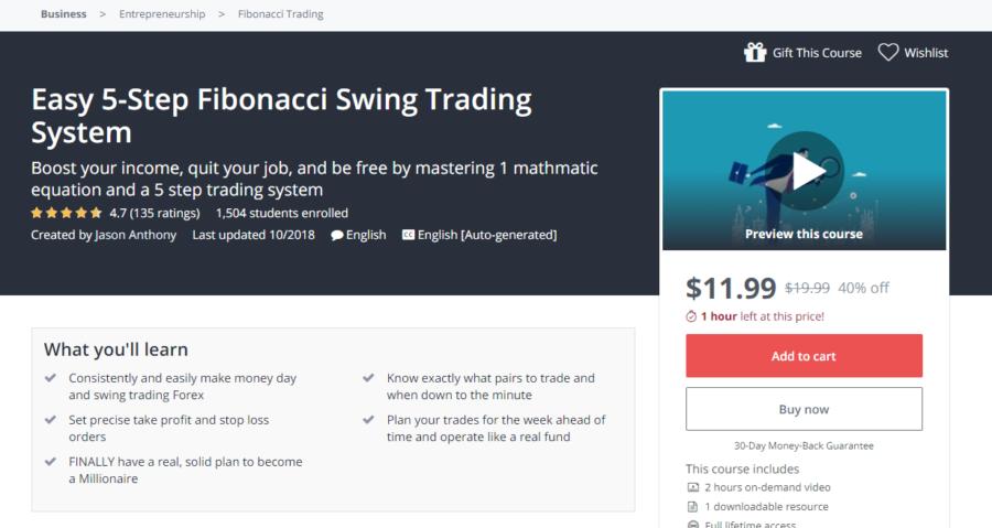 Easy 5-Step Fibonacci Swing Trading System