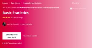 2. Basic Statistics by the University of Amsterdam